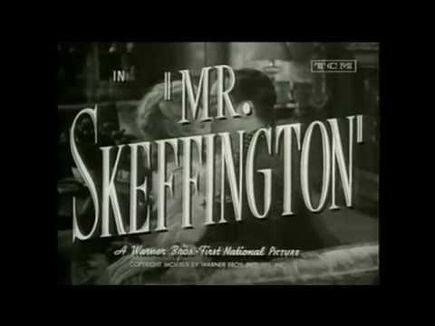 Mr. Skeffington starring Bette Davis (original trailer)