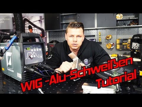 Wig aluminium schweißen lernen für Anfänger – Schweißkurs AC