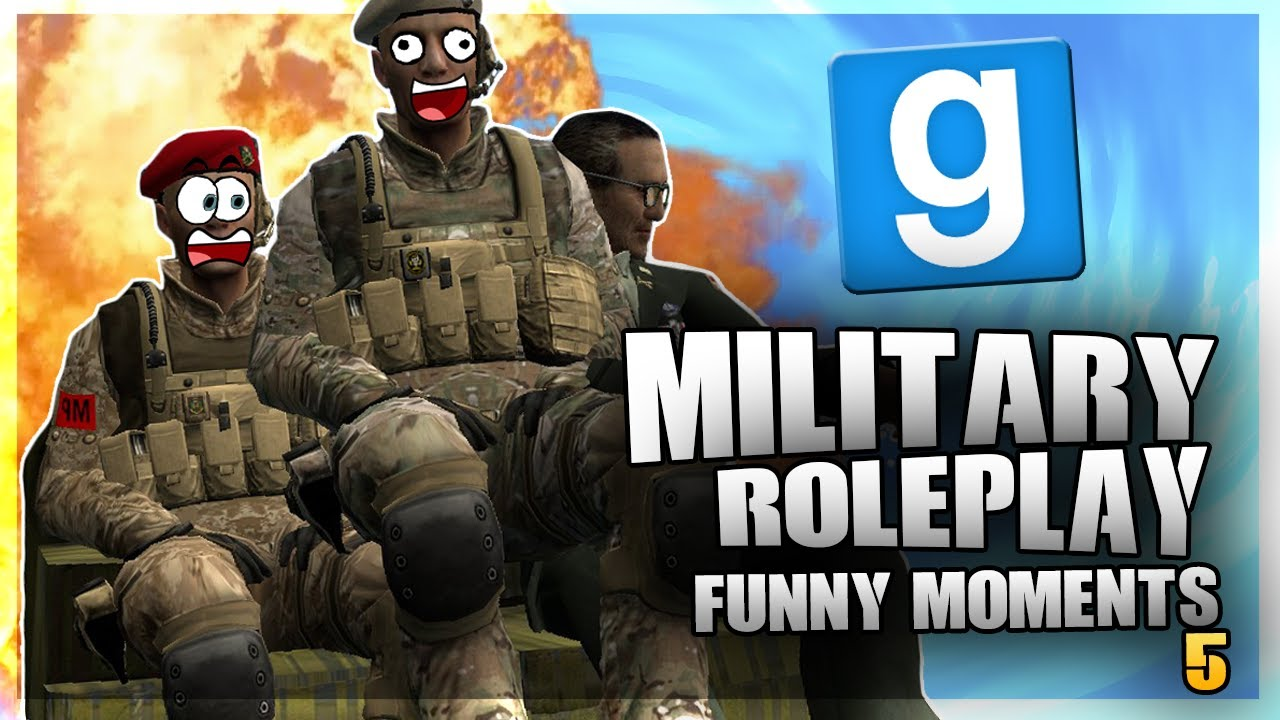MY NAME IS AKALDU!! (Gmod: MilitaryRP FUNNY MOMENTS! #5!)