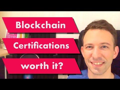 Are Blockchain Certifications Worth It?