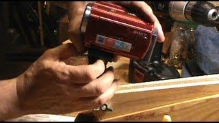 Wooden Camera Crane