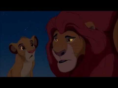 Simba and Mufasa.  You'll Be In My Heart.  Remade.