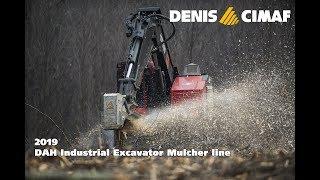 Excavator mulchers (2019) - Land clearing equipment - Forestry mulcher - DENISCIMAF.com