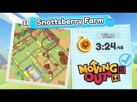 Moving Out.Snottsberry Farm. Gold Medal. 2 Players Co-op |
