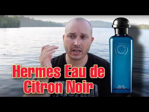 Hermes Eau De Citron Noir Fragrancecologne Review Youtube