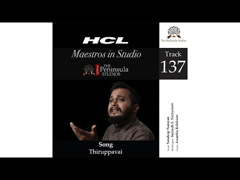 Thiruppavai-Sandeep Narayan-HCL Maestros in Studio Live @TPS