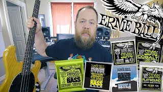 Ernie Ball Bass String Shootout!