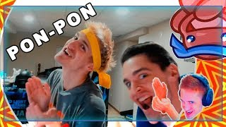 Ninja & His Brother Doing PON-PON!