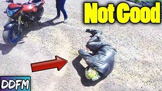 WHEN MOTORCYCLE STREET RACING GOES BAD!
