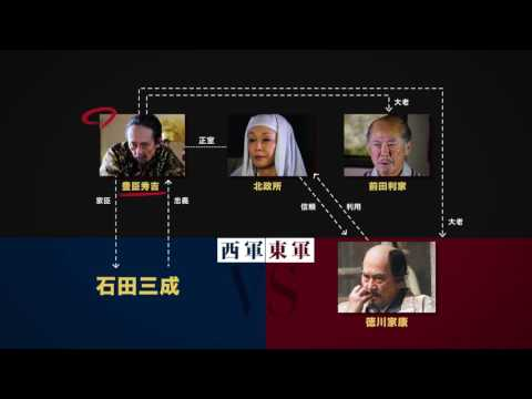 """『関ヶ原』特別映像""""天下分け目の戦い<その真実>編"""""""