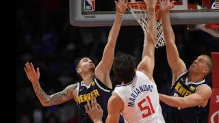 Boban Marjanovic dunks without jumping