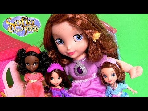 Sofia The First Bedtime Princess Slumber Party Talking