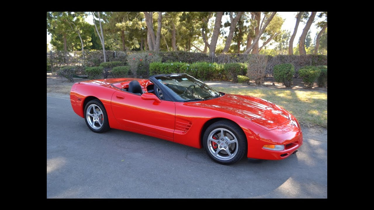 sold 2001 chevrolet corvette convertible torch red for sale by corvette mike anaheim youtube. Black Bedroom Furniture Sets. Home Design Ideas