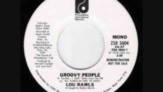 Watch Lou Rawls Groovy People video