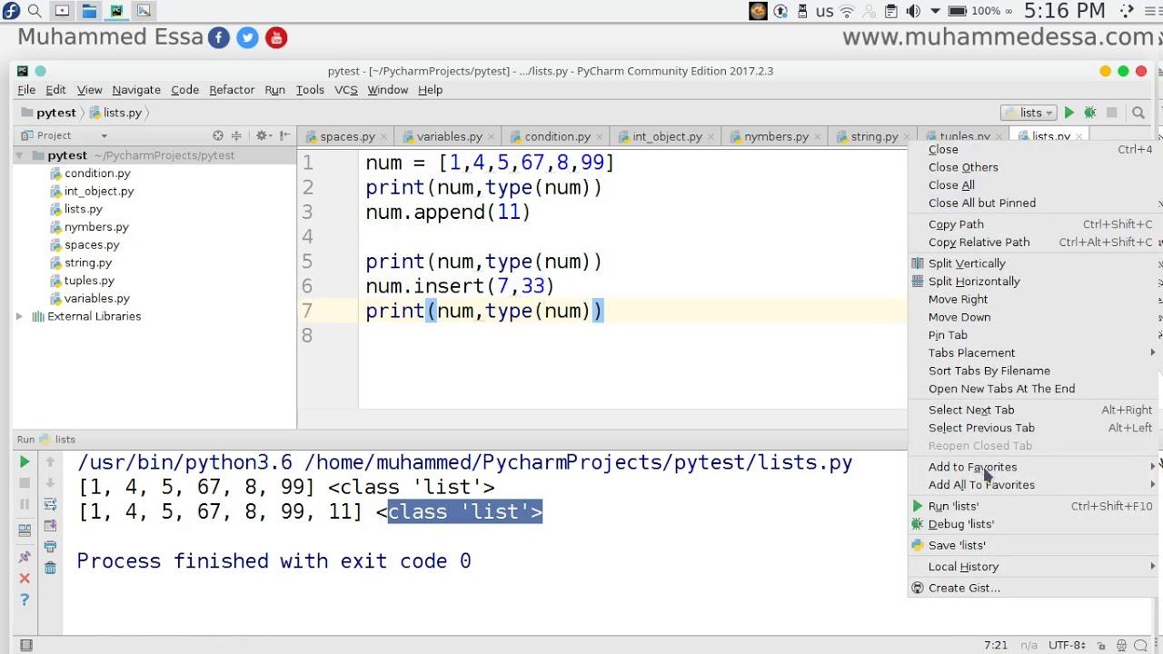 12 Python 3 Strings & Tuples