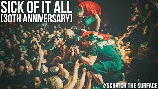 """Sick Of It All 30th Anniversary """"Scratch The Surface"""" Live [Webster Hall]"""