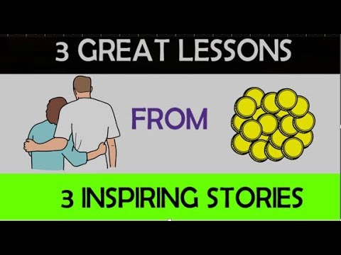 3 GREAT LESSONS FROM 3 INSPIRING SHORT STORIES IN HINDI | ANIMATED VIDEO