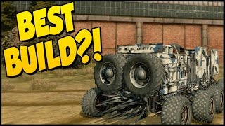 Crossout ➤ BEST BUILD IN GAME!? Dual Cricket Launcher Build [Crossout Gameplay]