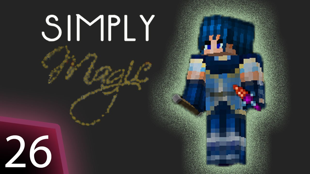 Simply Magic Modpack - Ep 26 - Witchery robes and kettle testing.