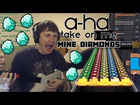Take On Me - A-Ha (MINE DIAMONDS) | Clone Hero
