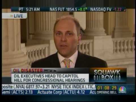 Congressman Steve Scalise Discusses The Administration's Response To The Oil Spill