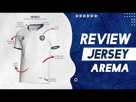 REVIEW JERSEY AWAY AREMA LIGA 1 2021 😱📺🇮🇩  - LAND OF FIGHTER