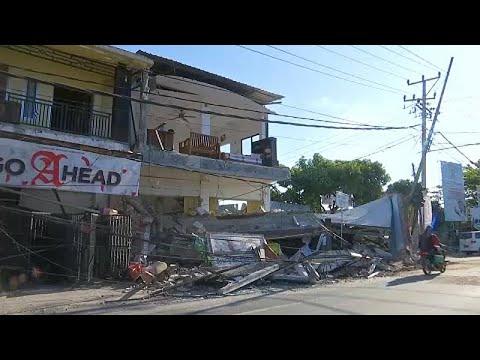 Indonesia earthquake: Rescue efforts...