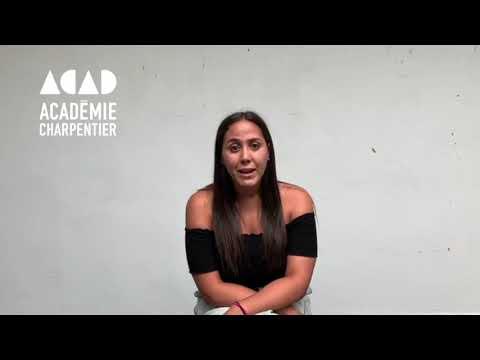 Lyla Lemseffer - Ancienne étudiante à l'Académie Charpentier - Promo 2019