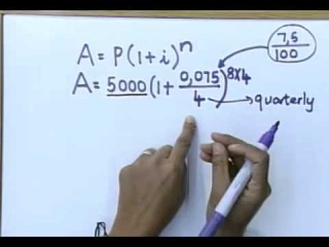 Matric revision: Maths: Financial Mathematics (2/6): Compound Interest