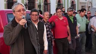 Participa STAUS en la Marcha Nacional de la lucha por un nuevo rumbo económico, político y social