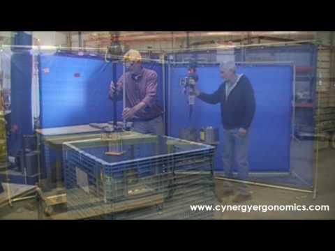 Rail Car Bearing Cup Manipulator / Lift Assist
