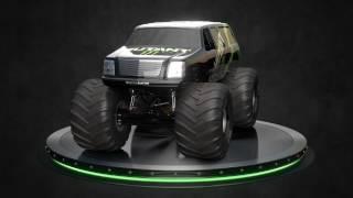 ALL NEW Mutant Monster Jam Truck Revealed!