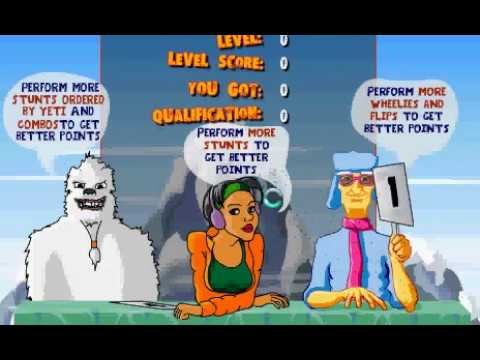 Snowbaording 2 sports game level1 to level2 clear score 4050