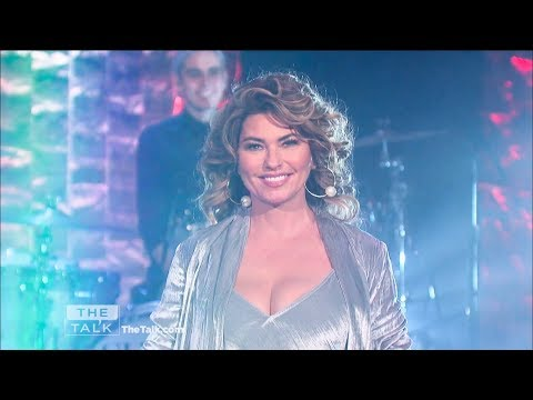 Shania Twain - Life's About To Get Good - The Talk - Oct 25, 2017