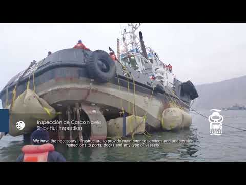 Diving Service Salvage. DS-Group. English Subtitles