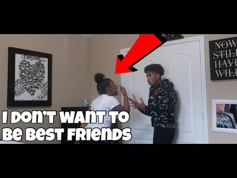 I DON'T WANT TO BE YOUR BEST FRIEND PRANK ON AIRI!!! (SHE GETS MAD)