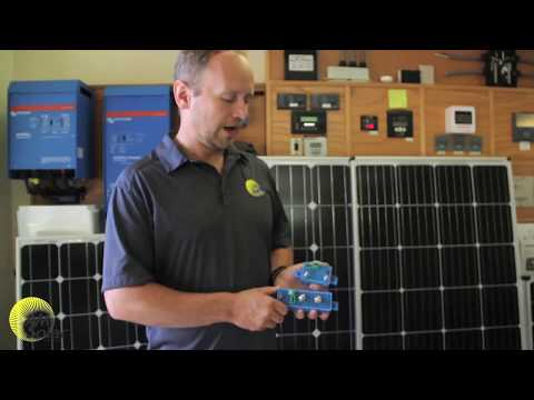 AM Solar: A Demo of How the Victron BatteryProtect Works for Your RV, Skoolie or Van