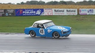 Castle Combe Autumn Classic 2018 - Crash and Action