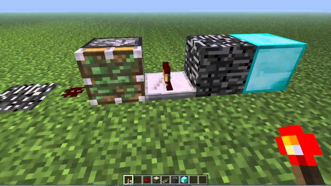 як зробити ферму алмазов в майнкрафт #3