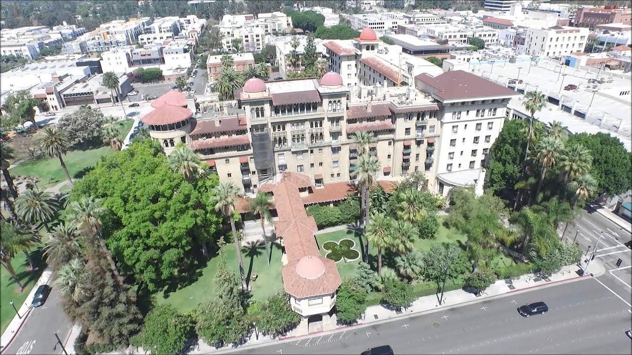 Aerial View Pasadena