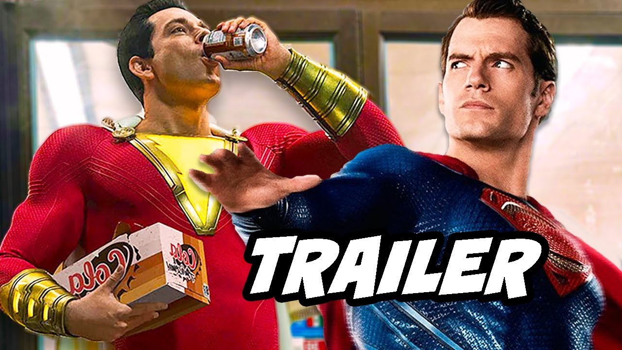 'Shazam!' Trailer Has a Second 'Aquaman' Easter Egg