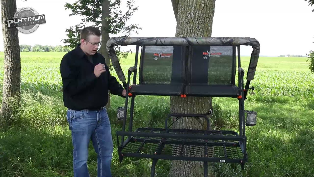 Nexus Two Man Ladder Stand Big Game Treestands Youtube