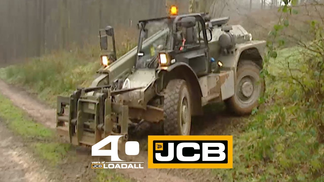 JCB Defence 523M - Celebrating 40 Years of Loadall