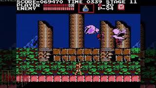 Playthrough - CASTLEVANIA 1 - Nintendo NES - No Death - One Life