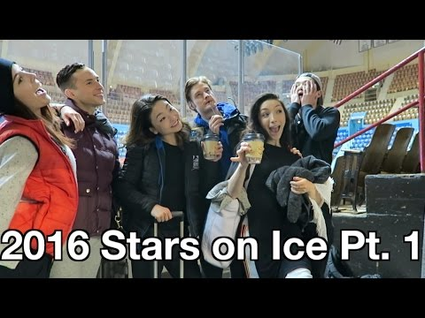 STARS ON ICE! Hershey! Portland! - ShibSibs (Vlog #32)