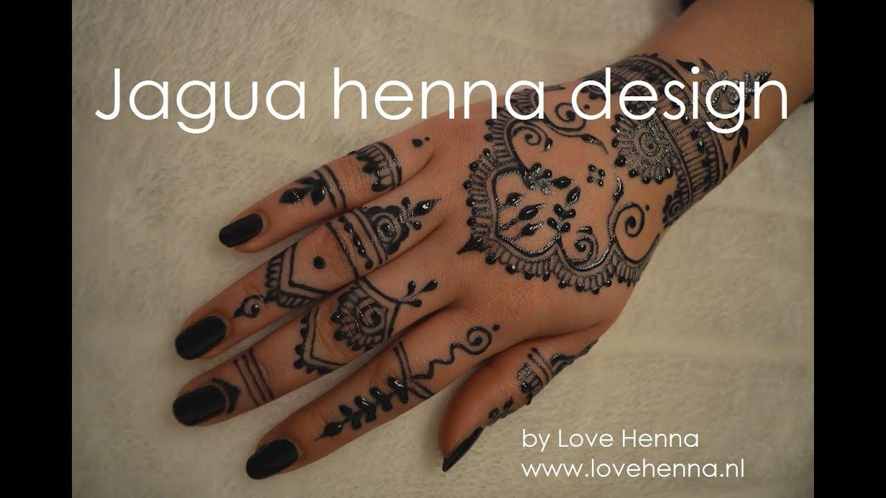 Jagua Henna Tattoo Review: Jagua Henna Design