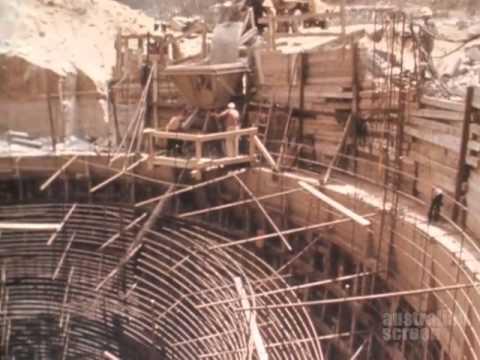 Geehi Dam Construction