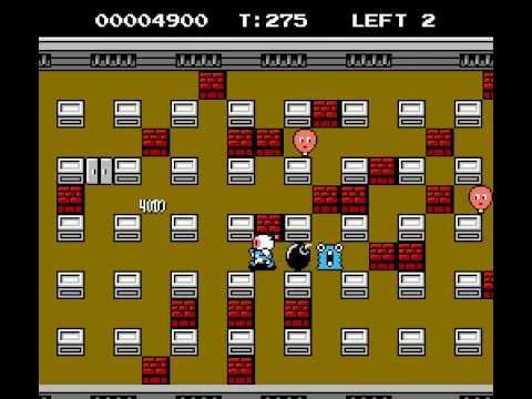 [Dendy/NES] Bomberman 2 [Полное прохождение / Longplay]