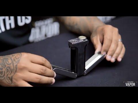 Adamantium X Box Mod With Suicide Doors | Butterfly Knife Doors | High End Box Mod Vape Review