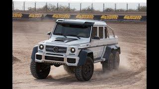 FORD RAPTOR 6X6 VS Mercedes-Benz Brabus G63 6x6